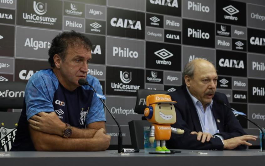 Cuca quer quebrar vínculo com o Palmeiras, clube em que trabalhou em 2017 (Foto: Ricardo Moreira/Fotoarena)