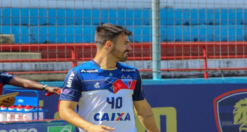 Nene Bonilha chegou ao Fortaleza e já é titular da equipe com Rogério Ceni (Divulgação)