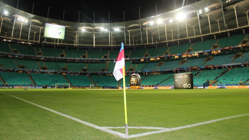 Fonte Nova será palco do confronto, desta segunda-feira, entra Atlético-MG e Bahia (Foto: Carlos Gregório Jr)