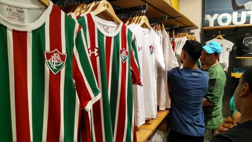 Under Armour entrou no lugar da DryWorld como fornecedora de material esportivo do Flu (Foto: Divulgação/FFC)