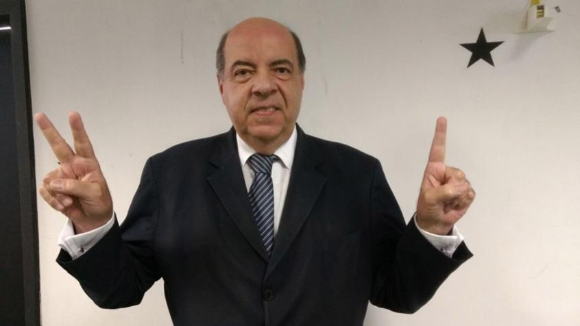 Presidente Nelson Mufarrej: atual gestão conseguiu vitória depois de três anos (Foto: Felippe Alcantara Rocha)