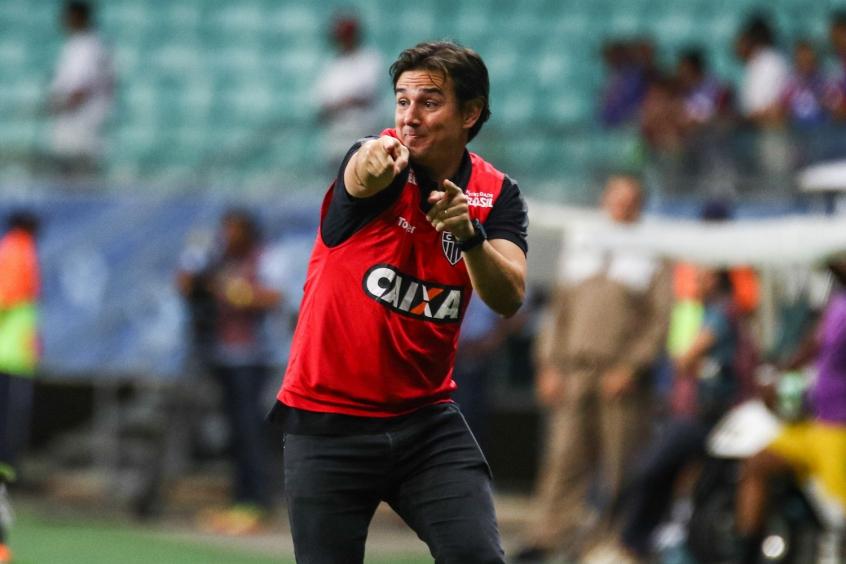Thiago Larghi ficou na bronca com primeiro gol de empate do Bahia, mas enalteceu atuação do Atlético em Salvador (Bruno Cantini / Atlético)