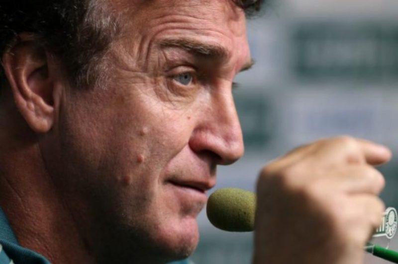 Cuca é o comandante de um elenco valioso no Atlético Mineiro – Foto: Cesar Greco / Palmeiras