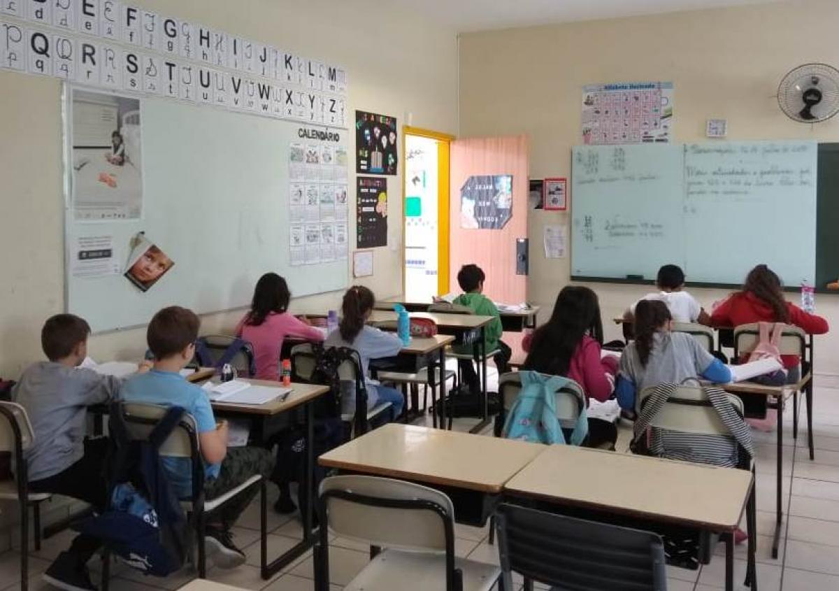 Cinquenta unidades escolares de Florianópolis farão reposição de aulas em julho - PMF/Divulgação/ND