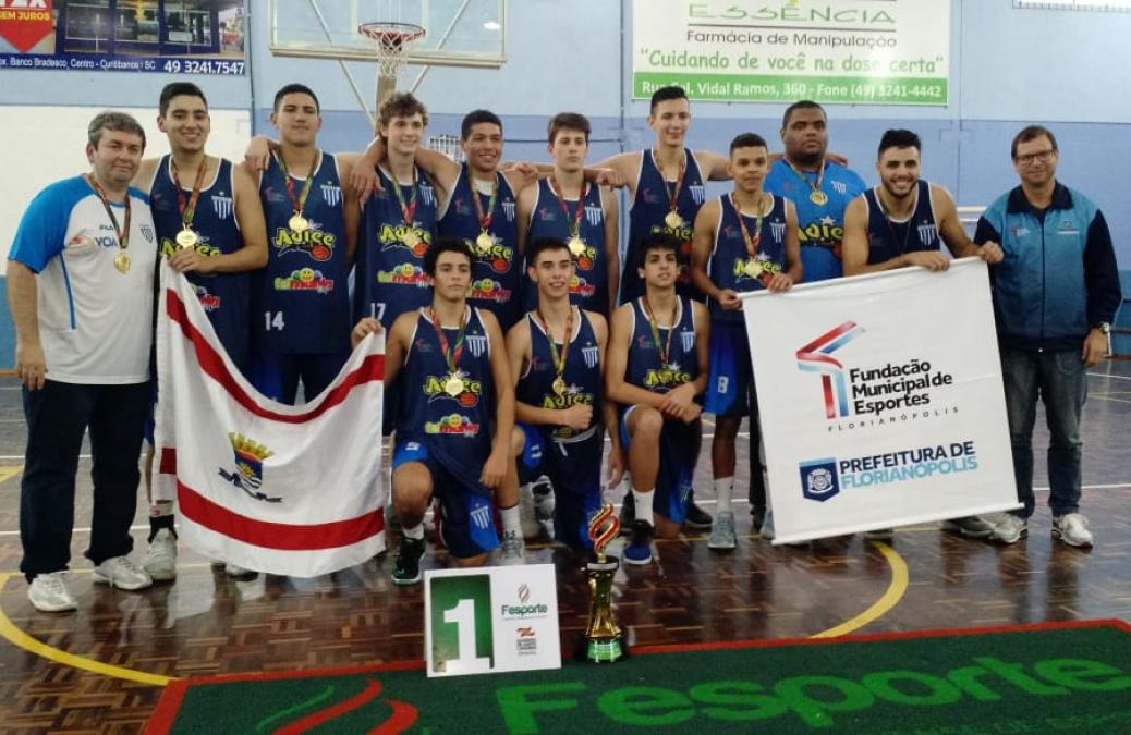 Equipe de basquete de Florianópolis venceu o basquete masculino nos  Joguinhos - Divulgação ND 66951fd0b116a