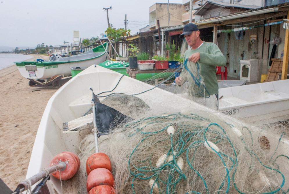 Pescadores não conseguiram comprovar posse dos ranchos - Flávio Tin/ND