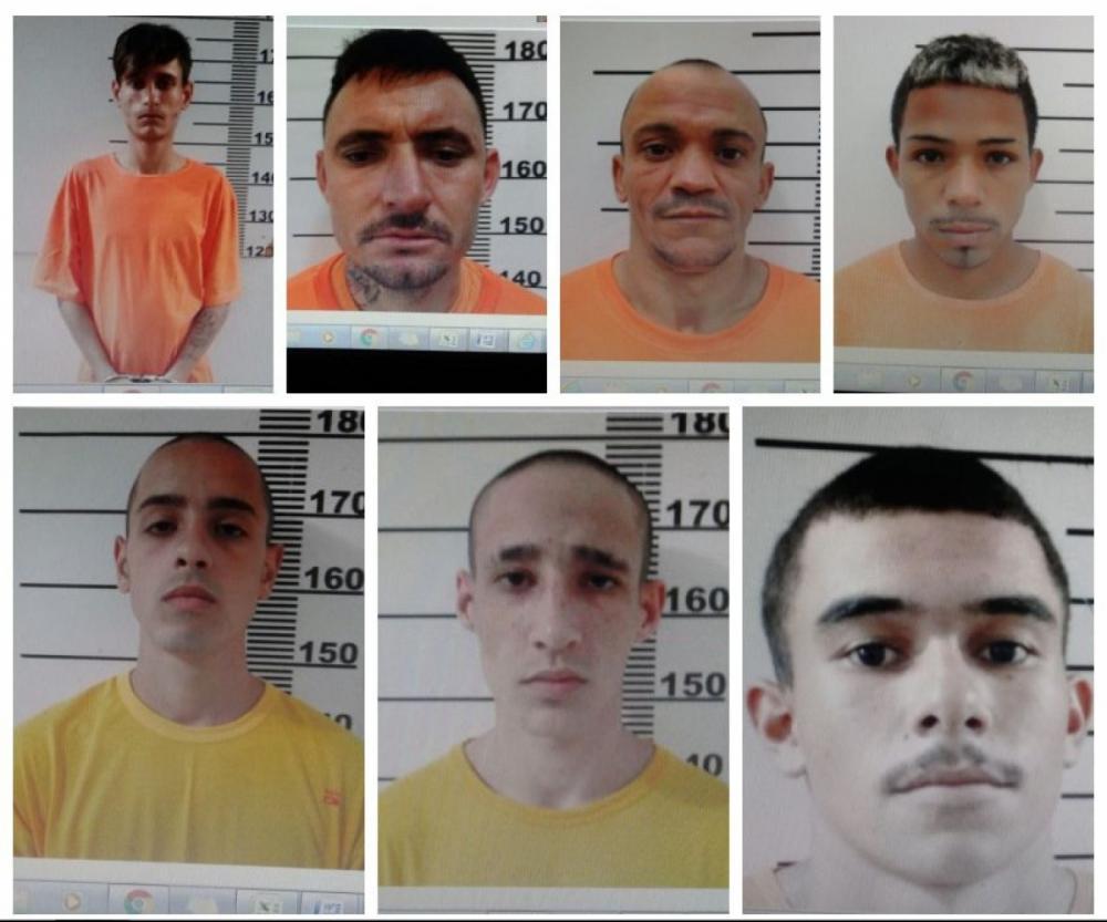 Presos fugiram da penitenciária da Capital na madrugada desta terça - Reprodução/ND