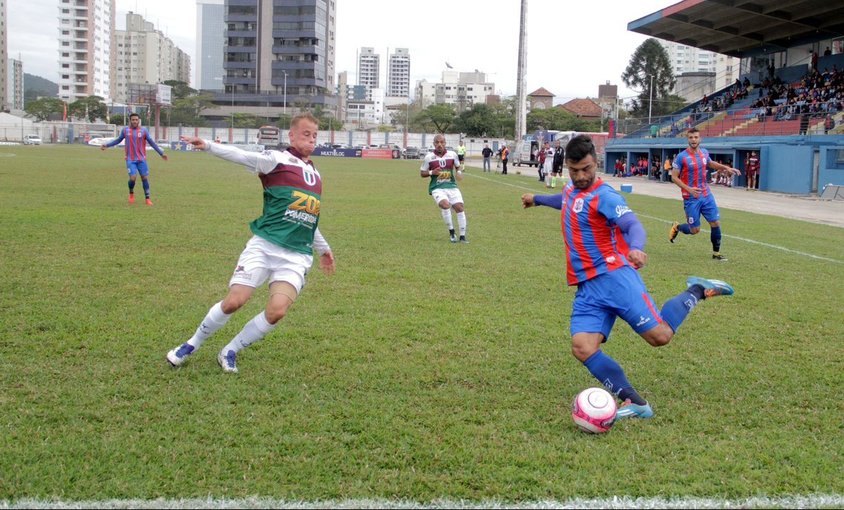 Marcílio Dias venceu mais uma e lidera do returno da Série B - FCF/divulgação