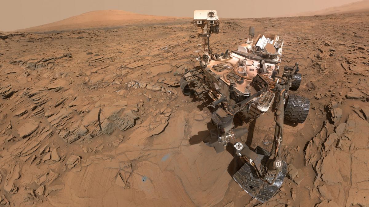 NASA encontra material orgânico antigo, metano misterioso em Marte, em junho deste ano - NASA/JPL-Caltech/MSSS/Divulgação