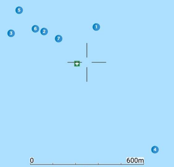 Buscas com sonar são feitas nas imediações de onde a aeronave estabeleceu o último contato - CBMSC/Divulgação/ND