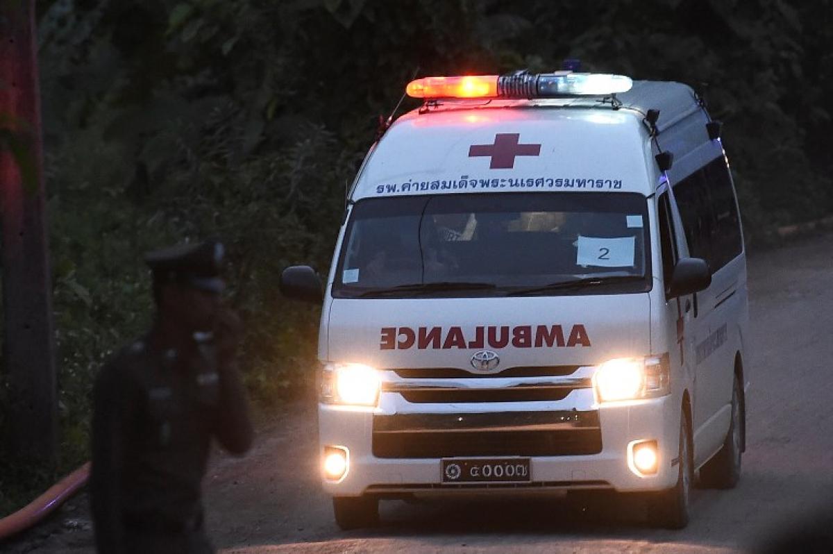 Quinto menino foi resgatado na manhã desta segunda-feira - YE AUNG THU / AFP