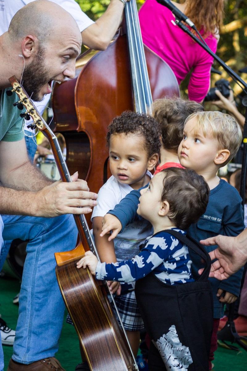 Dia de Jazz Bebê - PMF/Divulgação/ND