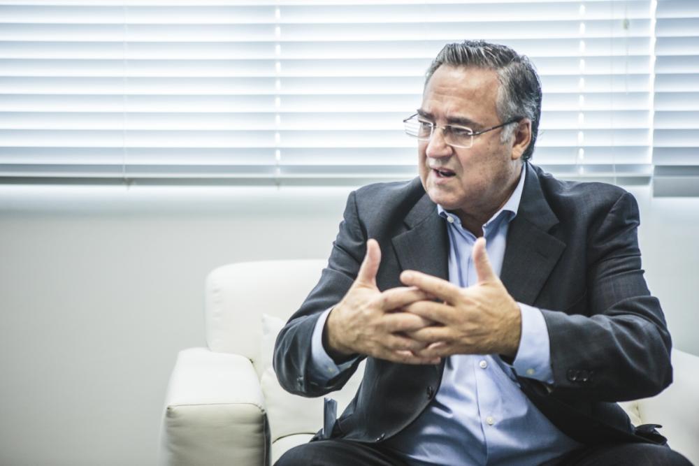 Governador Raimundo Colombo - Daniel Queiroz/ND