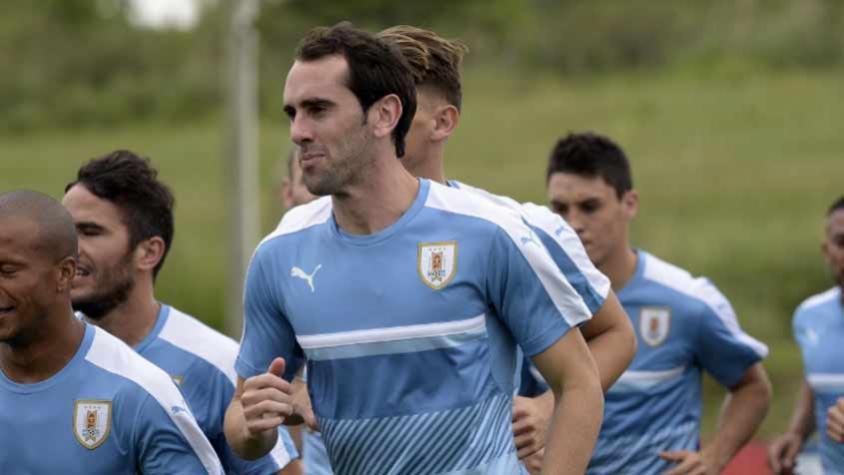 Diego Godín falou sobre o Uruguai e a Copa do Mundo (Foto: AFP) -