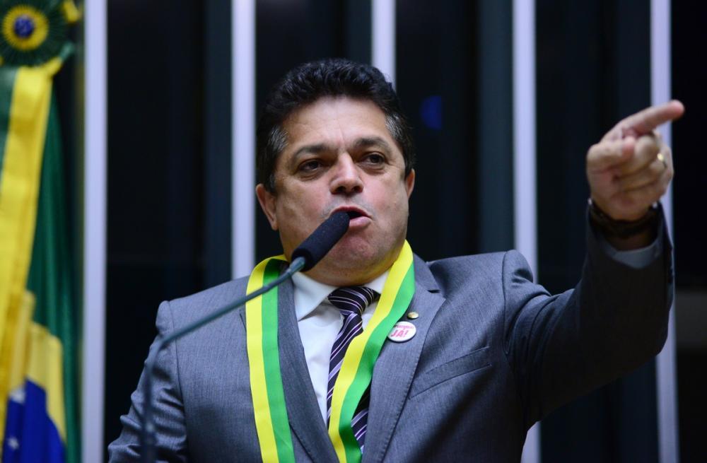 João Rodrigues na votação do impeachment de Dilma Rousseff - Nilson Bastian/Câmara/ND