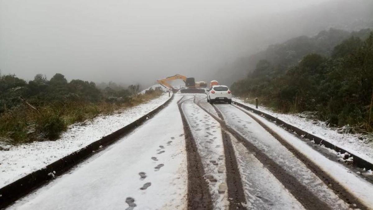 Neve em Urubici - Pedro Marquez/Divulgação