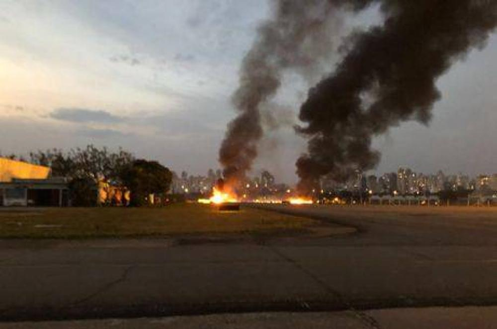 Avião que saiu de Videira cai em SP  - Divulgação R7/ND