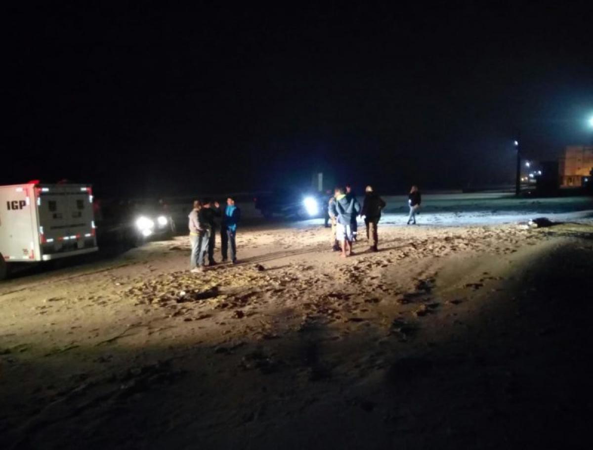 Duplo homicídio ocorreu em Balneário Arroio do Silva - Portal Agora Sul/Divulgação