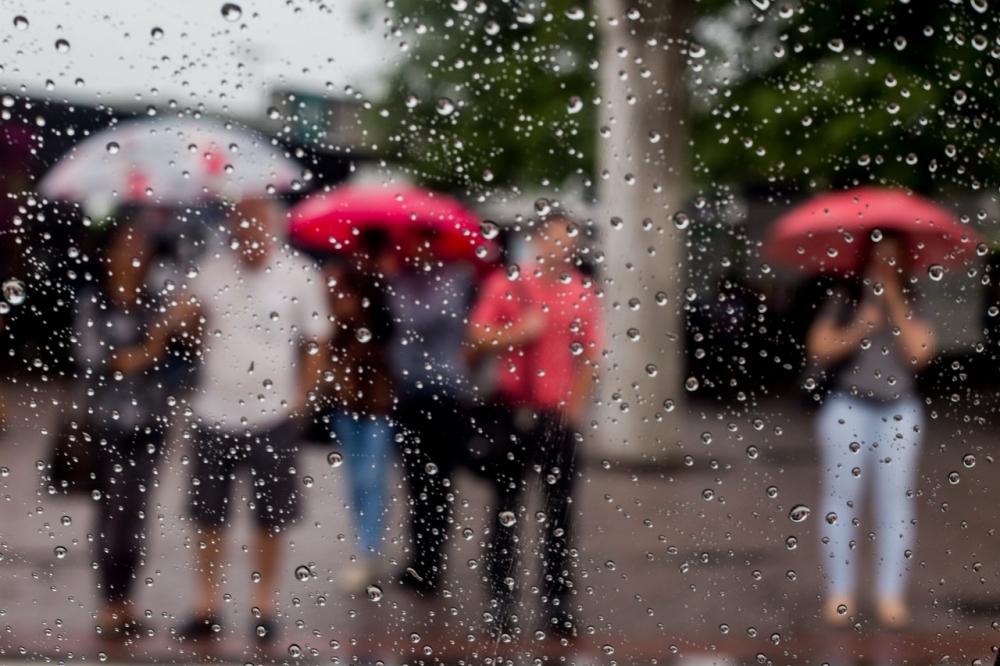 A chuva deverá persistir até quinta-feira em Santa Catarina - Flávio Tin/ND