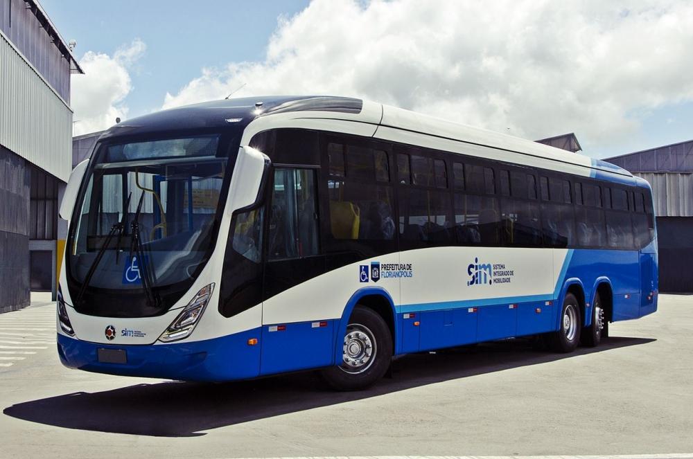Seis ônibus do novo modelo começarão a circular na etapa inicial - Consórcio Fênix/Divulgação