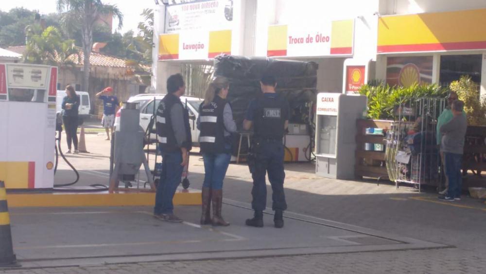Posto interditado durante a fiscalização já havia sido denunciado - GMSJ/Divulgação/ND