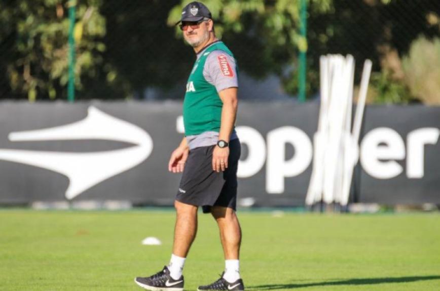 Rogério Micale foi o último técnico demitido na temporada após perder para o Vitória. O Leão já 'demitiu' três técnicos no ano, dois a menos do que o Bahia, principal responsável pelas quedas  -  Foto: Bruno Cantini/Atlético-MG