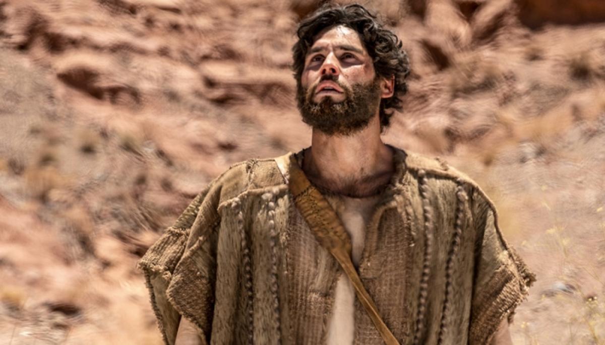 Dudu Azevedo interpreta Jesus na nova novela da Record - Edu Moraes/Record TV/Divulgação/ND