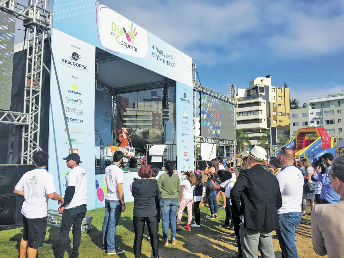 Uma série de atividades foi oferecida gratuitamente ao público - Divulgação/ND