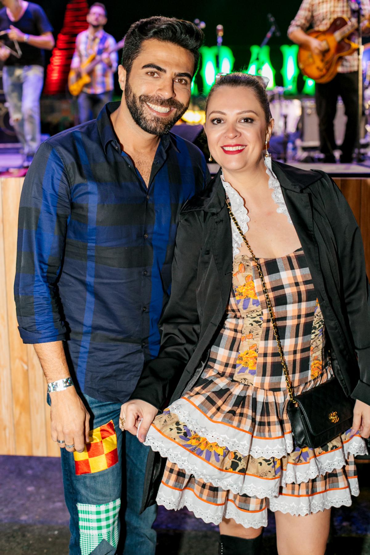Paulo Andrade e Michele Knop - Caio Graça