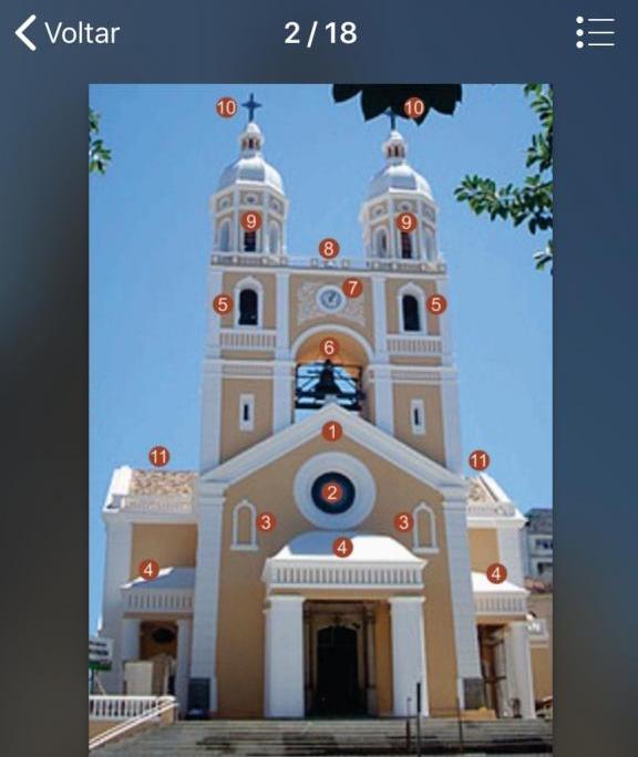 Audioguia da Catedral Metropolitana pode ser acessado de smartphones e tablets - Divulgação/ND