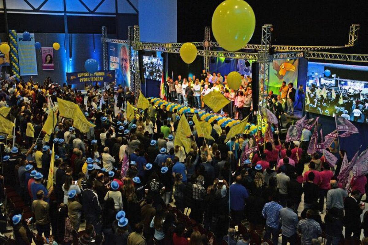 Convenção do PSDB em Joinville - Divulgação/ND
