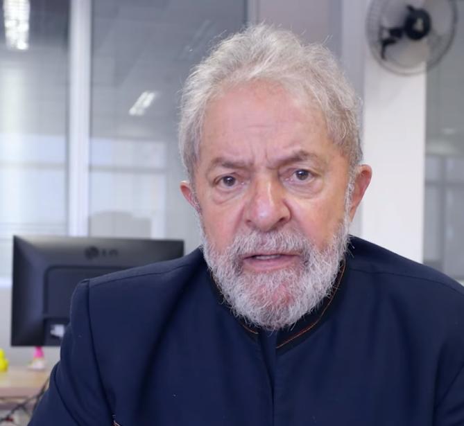 Lula deixou mensagem gravada antes de sua prisão, em abril - Divulgação/ND