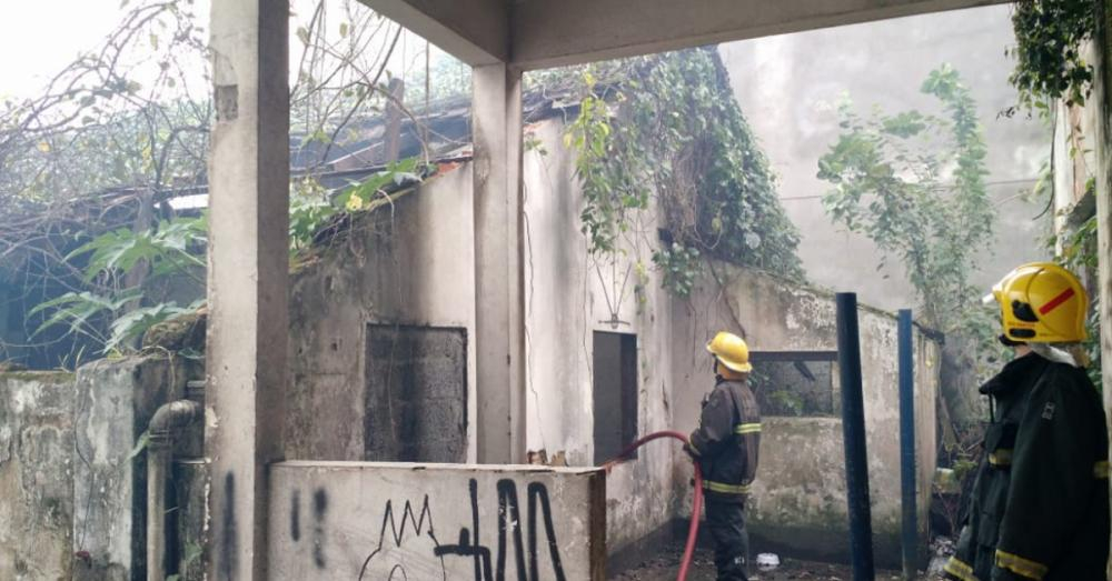 Bombeiros fez levantamento sobre os prédios abandonados em Florianópolis - Corpo de Bombeiros/Divulgação/ND