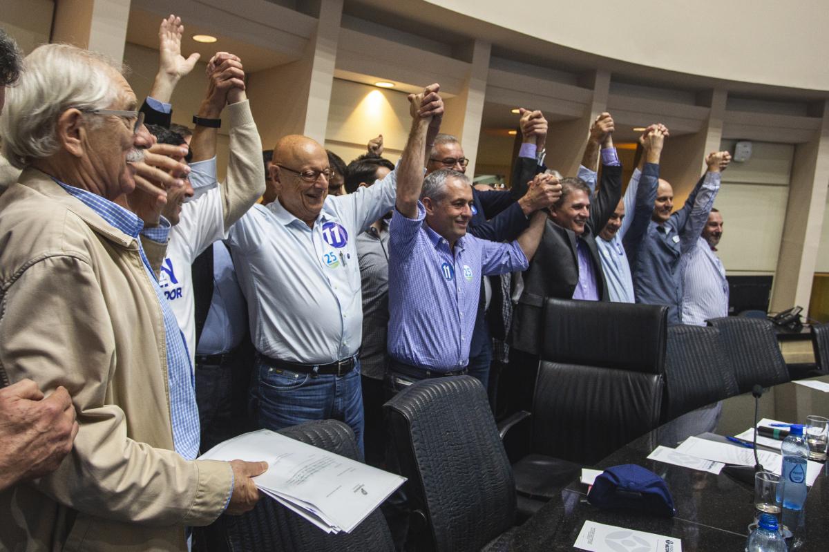 Esperidião Amin é lançado candidato ao Governo de Santa Catarina - Daniel Queiroz/ND