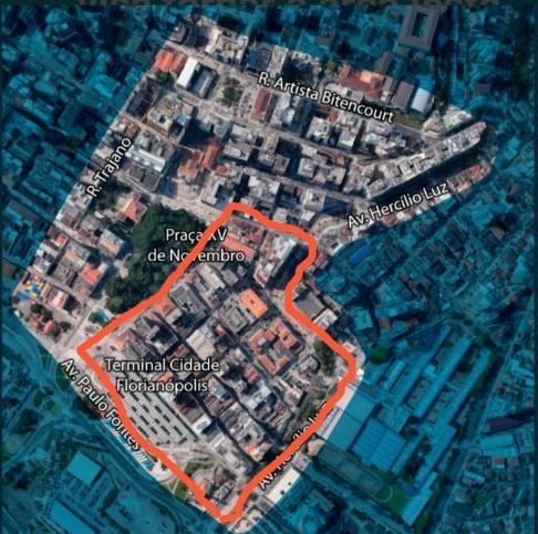 Confira como pode ficar a área do distrito criativo do setor leste do centro histórico - reprodução, ND