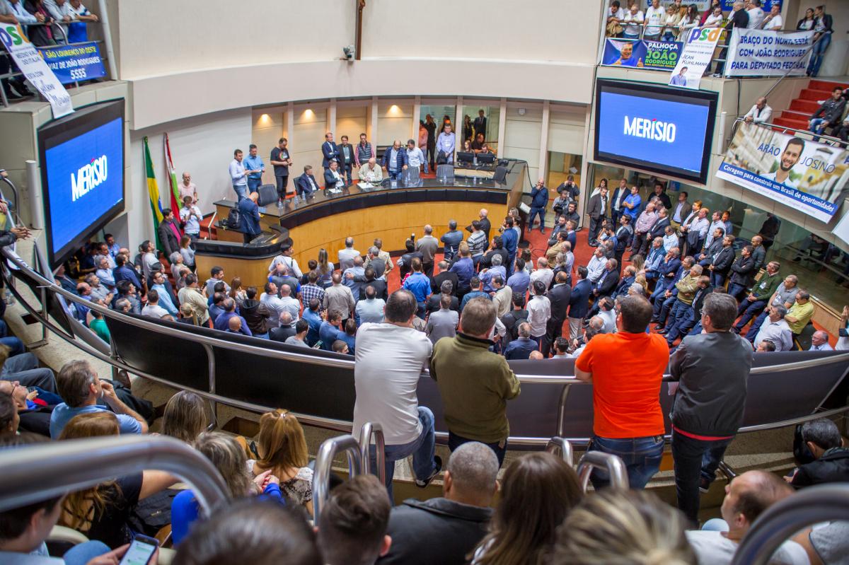 Convenção do PSD na Alesc - Divulgação