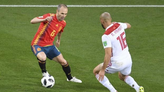 Iniesta é um dos destaques da Espanha nesta Copa do Mundo -  AFP