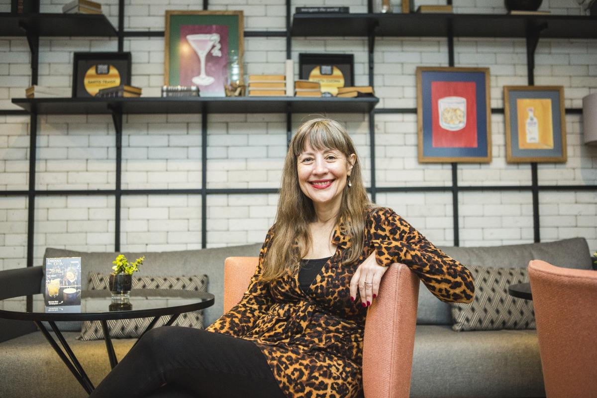 Tracy Mann  é desenvolvedora de negócios internacionais do South By Southwest, evento que ocorre em Austin, nos EUA - Daniel Queiroz/ND