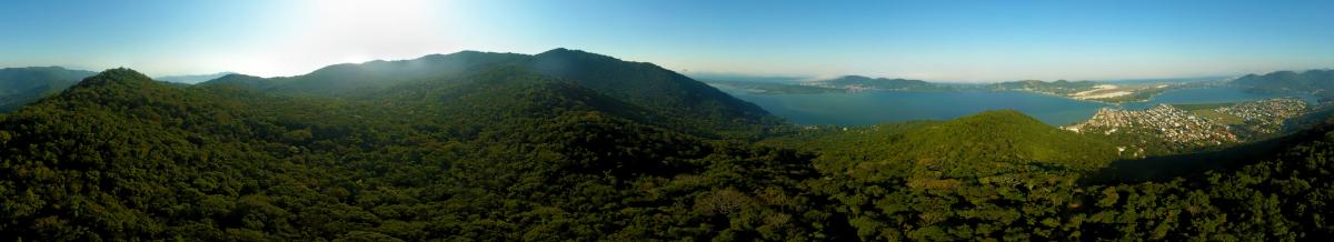 Morro do Assopra, no maciço da Lagoa: 328 metros de altitude - Flávio Tin/ND
