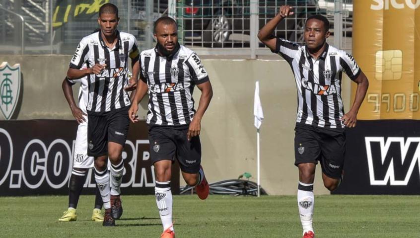 Elias celebra seu gol marcado no Horto (Foto: André Yanckous/AGIF/Lancepress!) -