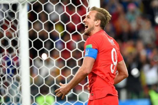 Kane mais uma vez deixou sua marca nesta Copa da Rússia  -  Colômbia x Inglaterra