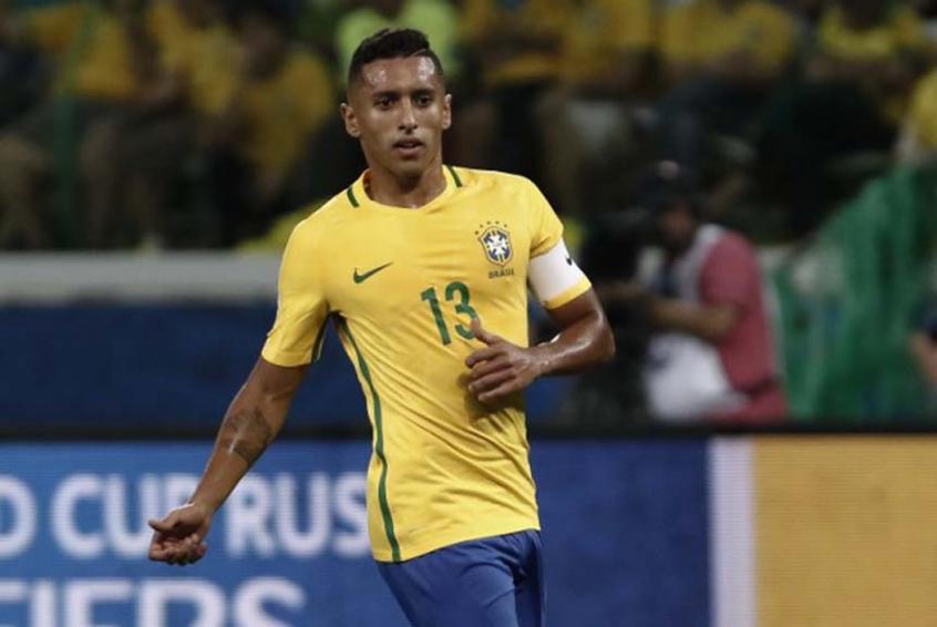 Zagueiro Marquinhos, do PSG e da Seleção Brasileira – Foto: Miguel Schincariol/AFP