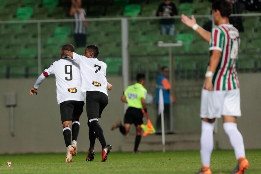 Atlético-MG conquistou o primeiro título da categoria (Foto: FMF/Cris Mattos)