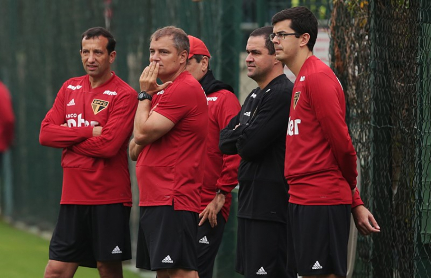Comissão técnica do Tricolor terá 24 jogadores à sua disposição para o jogo contra o Colón, na quinta (Rubens Chiri/saopaulofc.net)