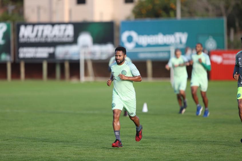Júnior Santos espera vitória contra o Palmeiras (Foto: Divulgação)