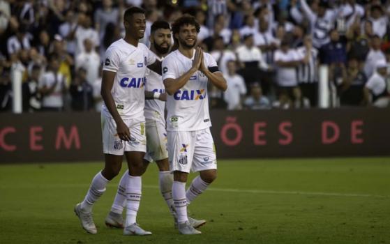 Santos x Sport  -  Flavio Hopp