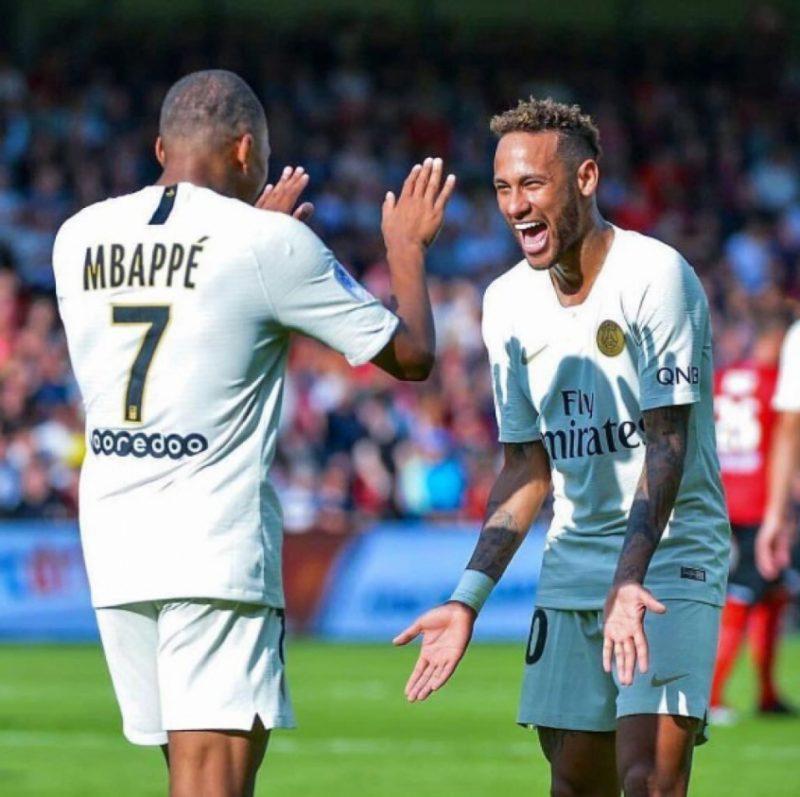 Neymar e Mbappé agora têm a companhia de Messi- Foto: Reprodução