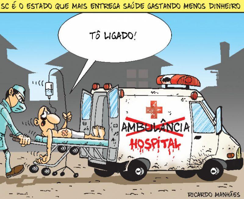 Saúde precária no Estado