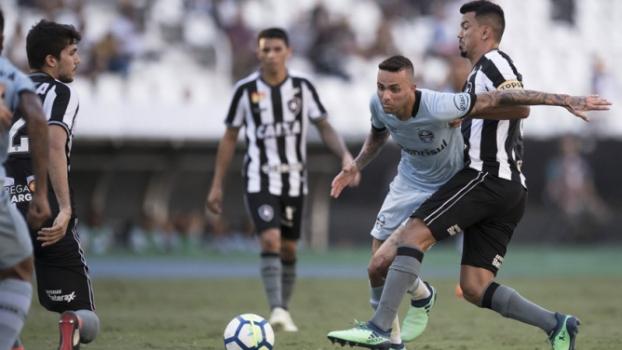 Último jogo: Botafogo 2 x 1 Grêmio - 28/4/2018 - Jorge Rodrigues/Eleven