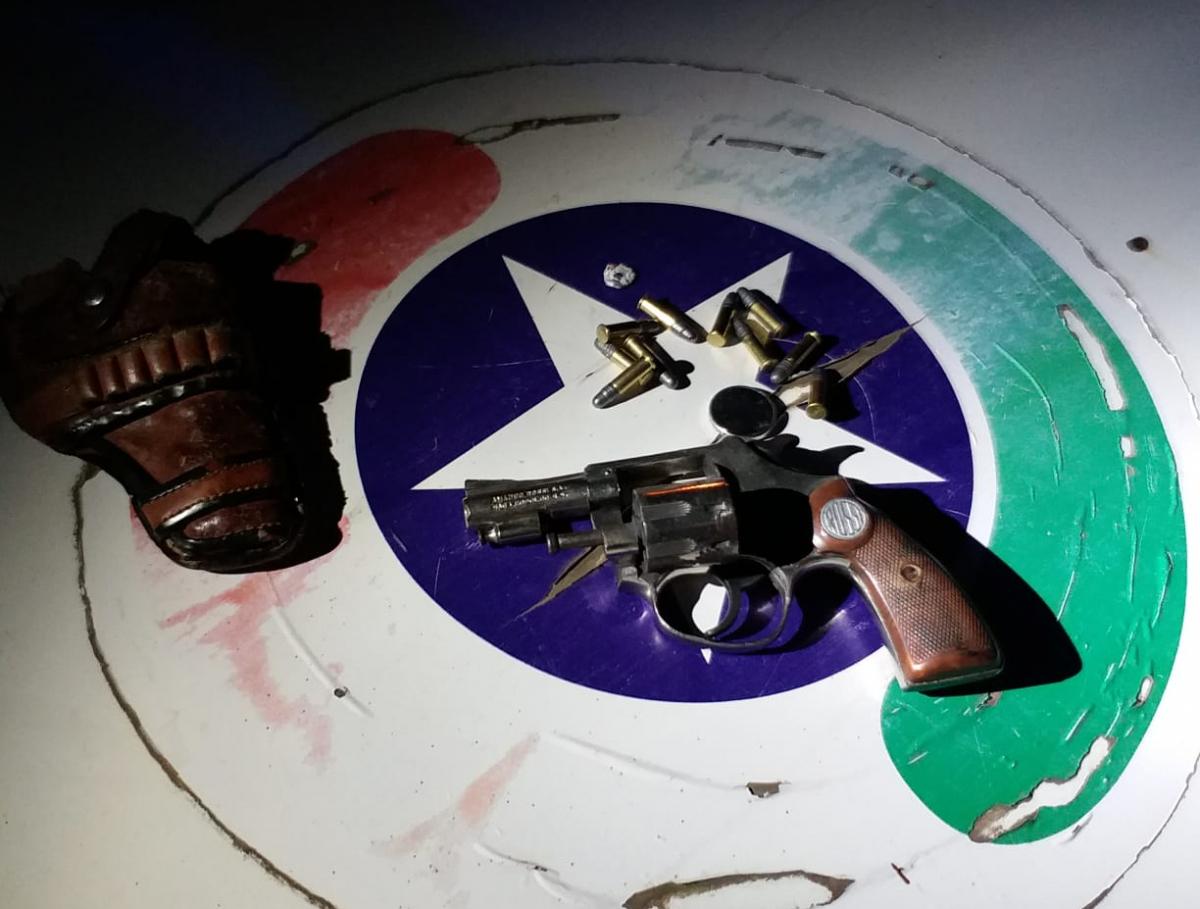 Ao todo, 19 armas foram apreendidas durante a operação - Polícia Militar/Divulgação/ND